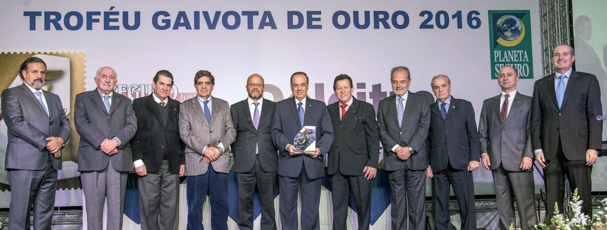 ANSP ganha Troféu Gaivota de Ouro 2016