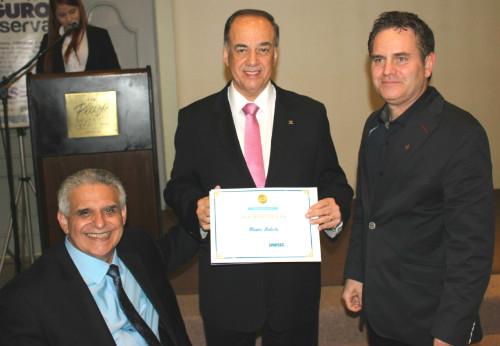 Presidente da ANSP é agraciado pelo SindsegRS