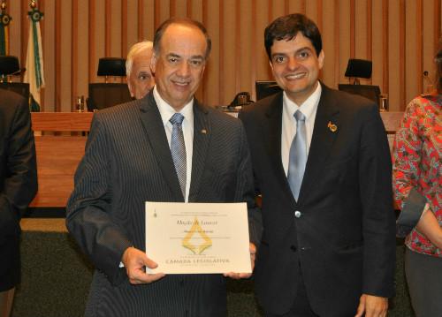Presidente da ANSP recebe moção de louvor da Câmara Legislativa do Distrito Federal