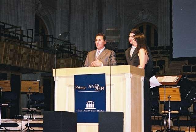 Prêmio ANSP – 2004 -Sala São Paulo