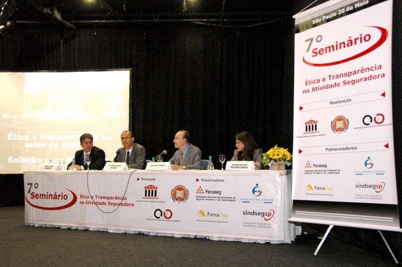 7º Seminário Ética e Transparência na Atividade Seguradora – 2008