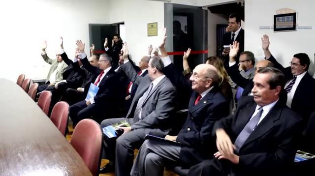 Reeleição de Mauro César Batista – Presidente da ANSP