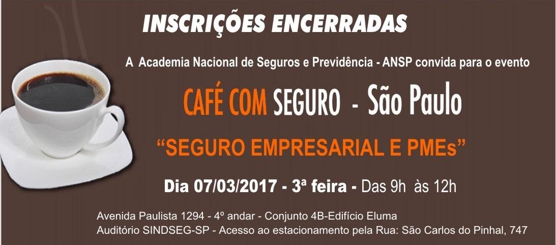 Seguro Empresarial e PMEs é o tema do próximo Café com Seguro