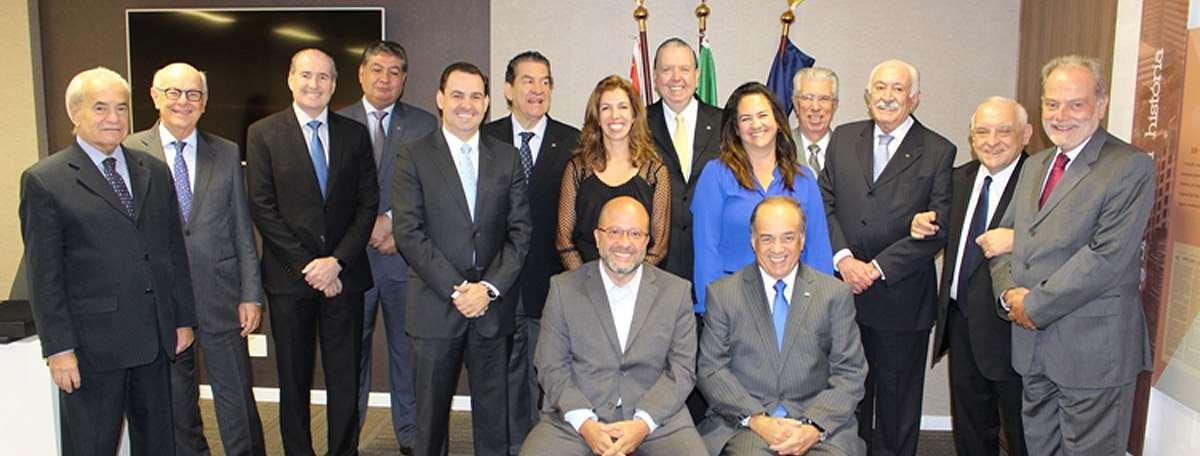 Homenagem ao Presidente Mauro César Batista