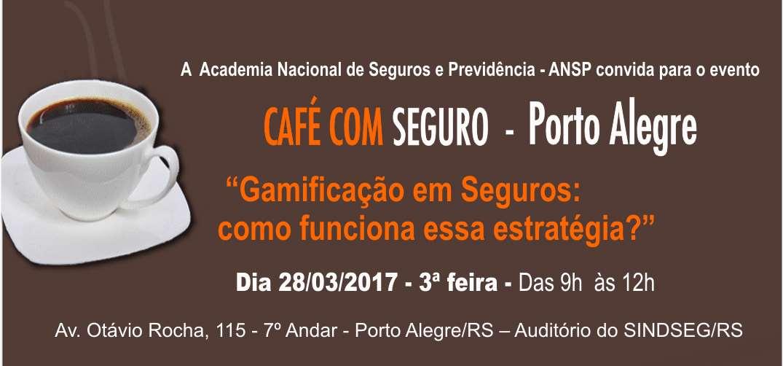 Gamificação em Seguros é tema do Café com Seguro em Porto Alegre