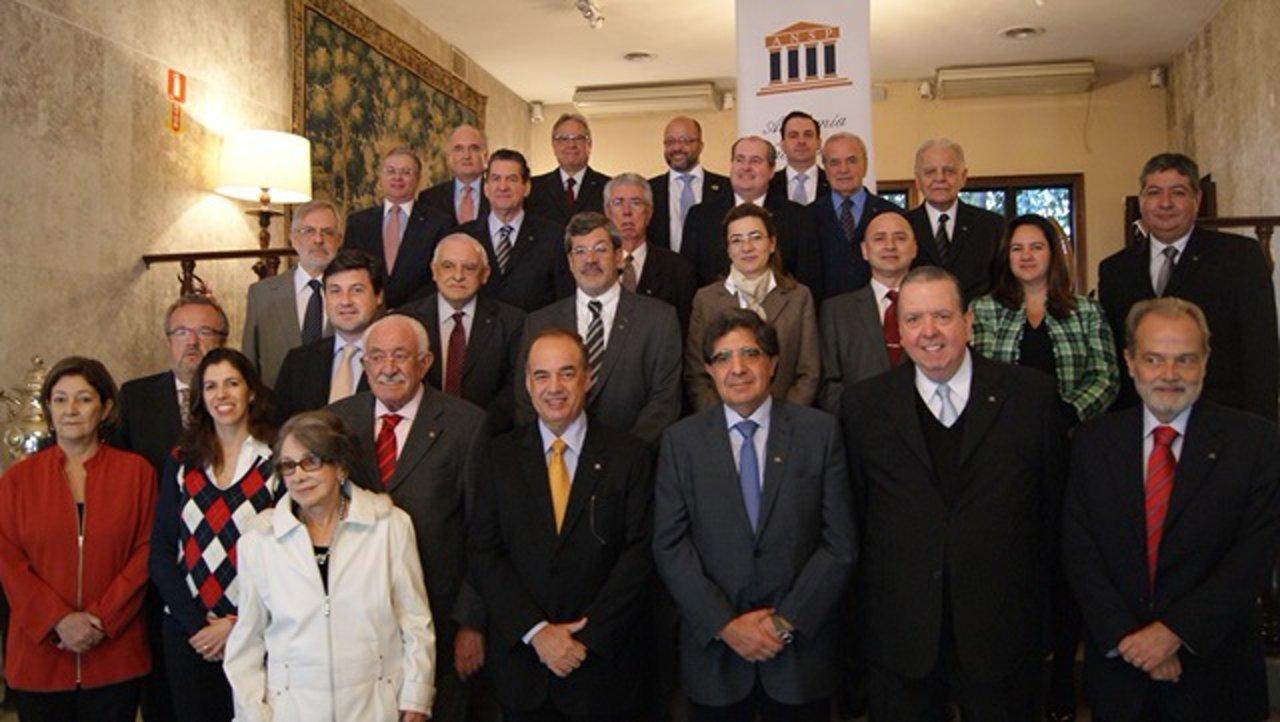 Posse da nova diretoria da ANSP – 2014