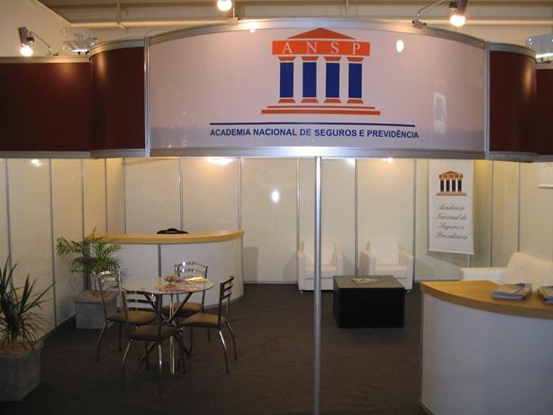 Stand ANSP XIV Congresso Corretores Maceió – 2005