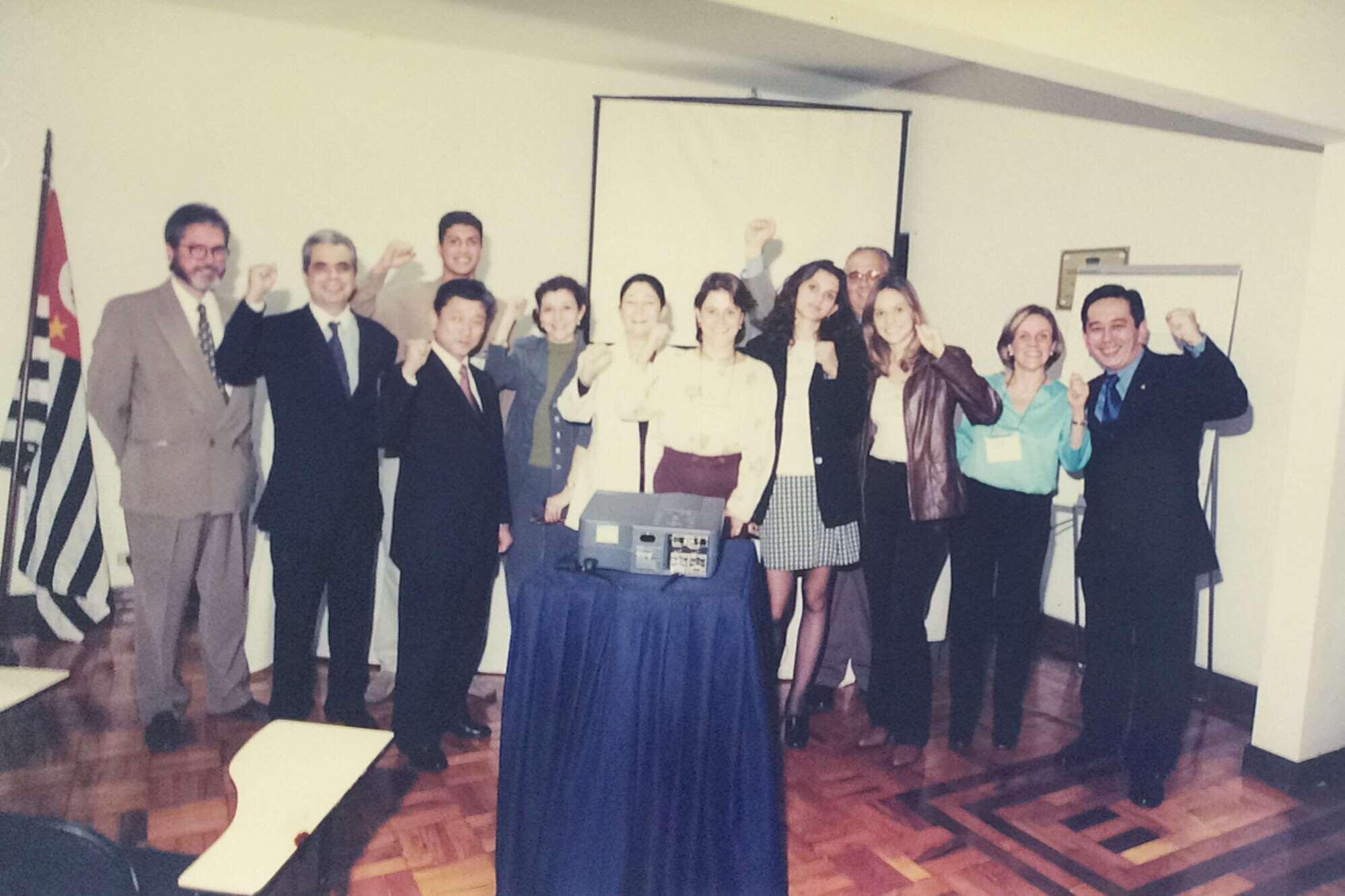 Programa de cursos coordenados por Christina Roncarati – 2000