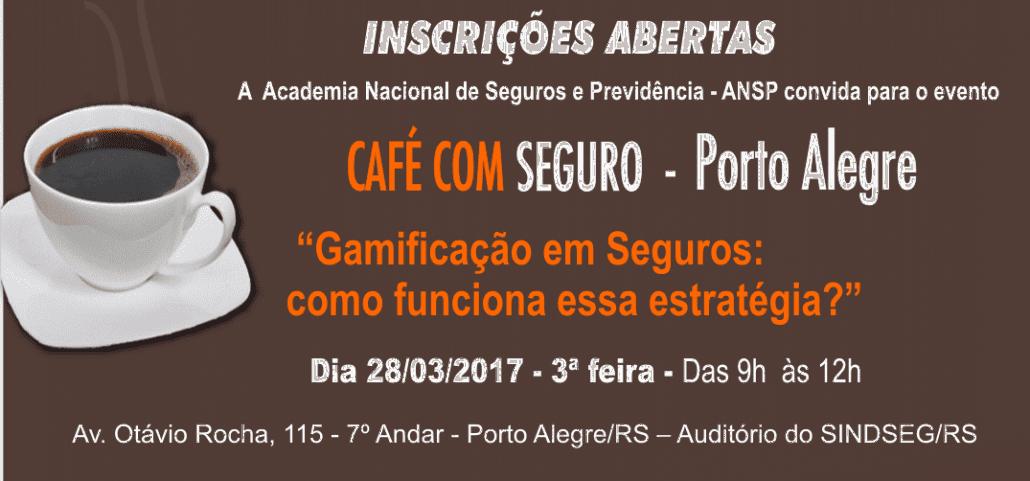 Gamificação em Seguros será tema do Café com Seguro em Porto Alegre