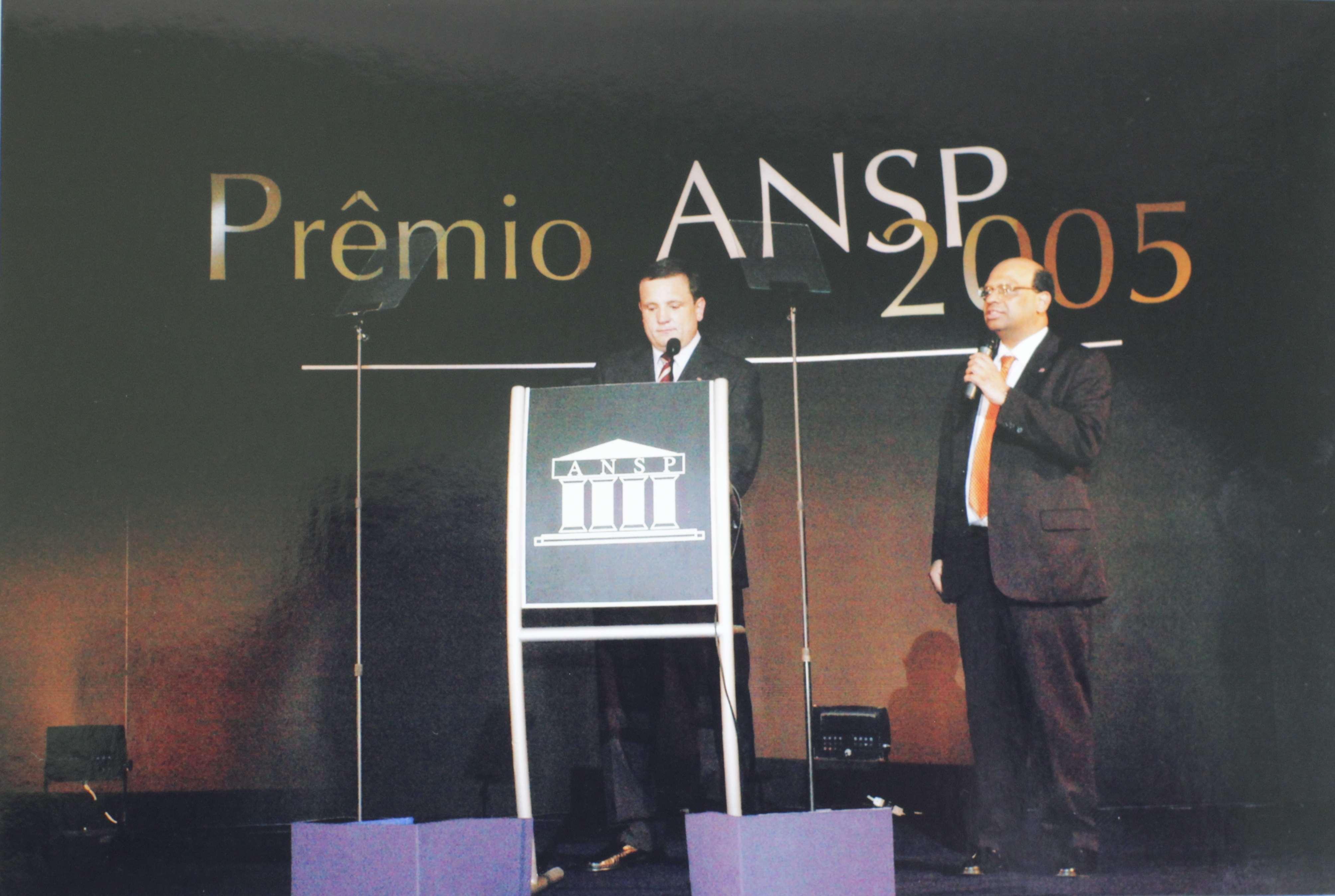 Prêmio ANSP – 2005