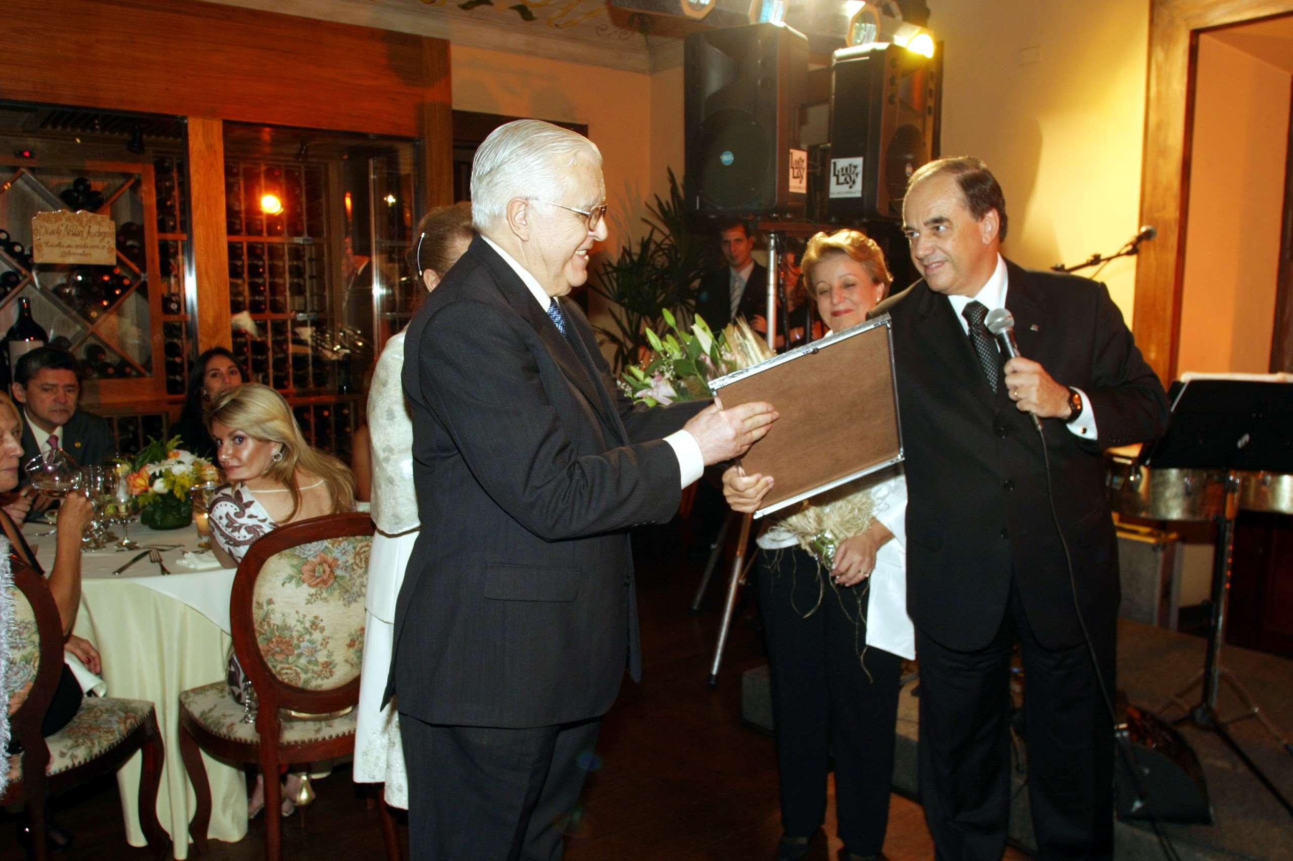 Jantar de Confraternização do Mercado x 1 Concurso Monografias 2007