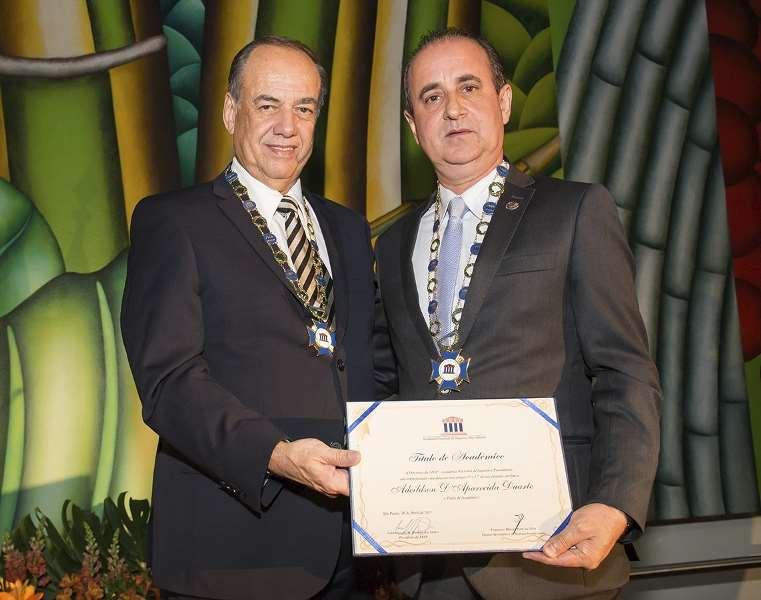 Noite Acadêmica ANSP – Posse do Novo Acadêmico Adeildson D´Aparecida Duarte