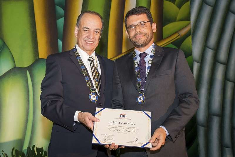 Noite Acadêmica ANSP – Posse do Novo Acadêmico Luiz Gustavo Braz Lage