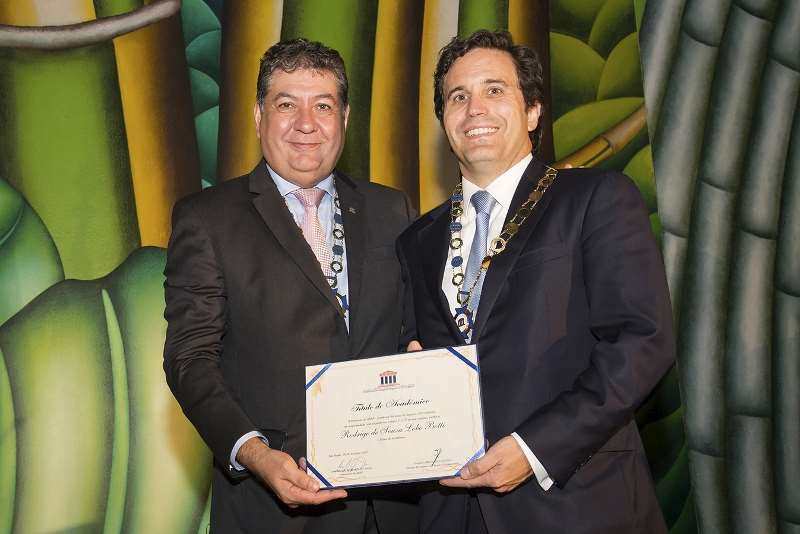 Noite Acadêmica ANSP – Posse do Novo Acadêmico Rodrigo De Souza Lobo Botti