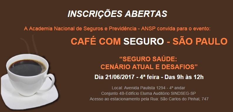 """""""Seguro Saúde: cenário atual e desafios"""" será o tema do próximo Café com Seguro"""