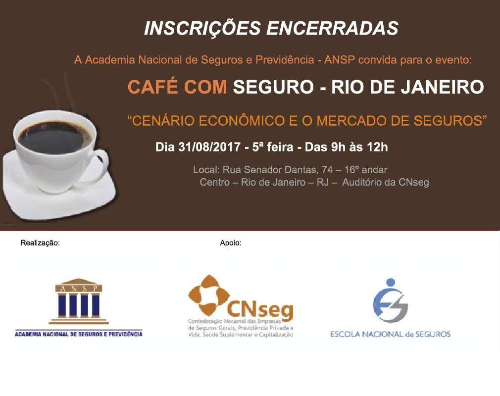 Inscrições encerradas – ANSP realiza Café com Seguro no Rio de Janeiro