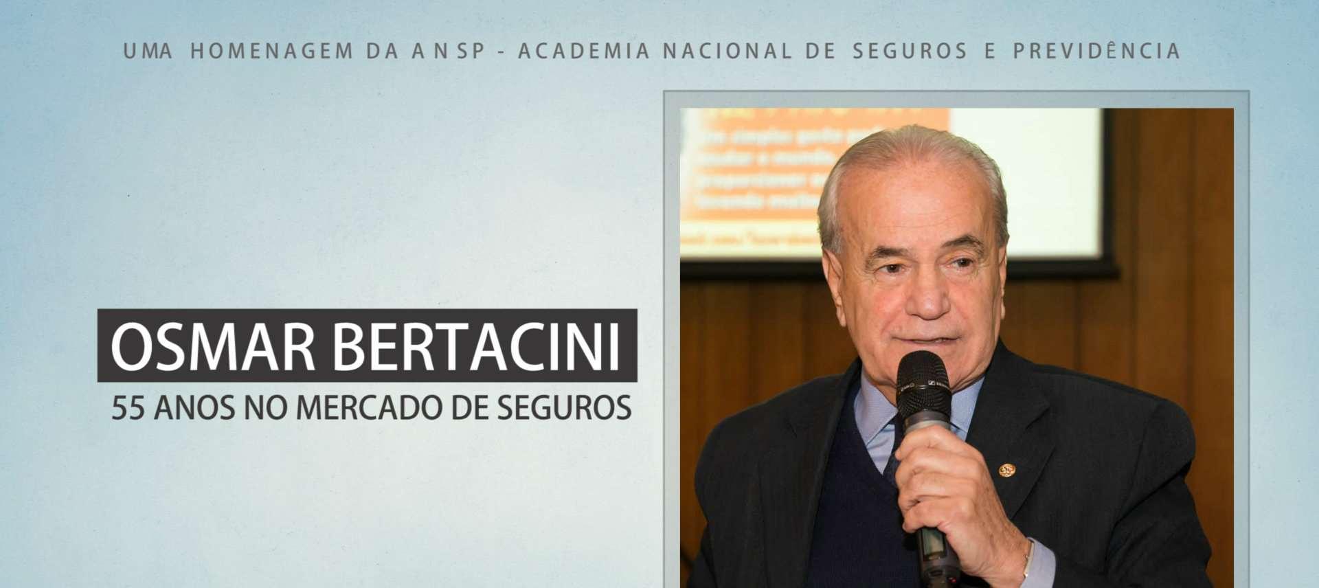 ANSP homenageia Osmar Bertacini