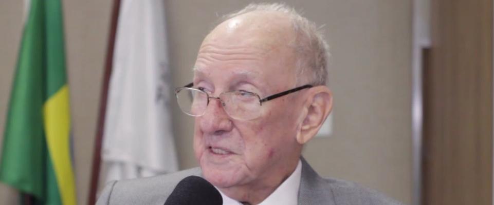 Morre, aos 87 anos, o Acadêmico João Eduardo de Oliveira Irion