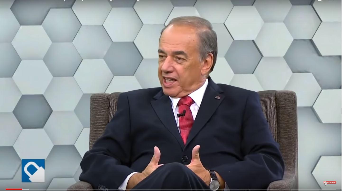 Presidente do Conselho Superior da ANSP, Mauro César Batista, concede entrevista ao Programa Seguro