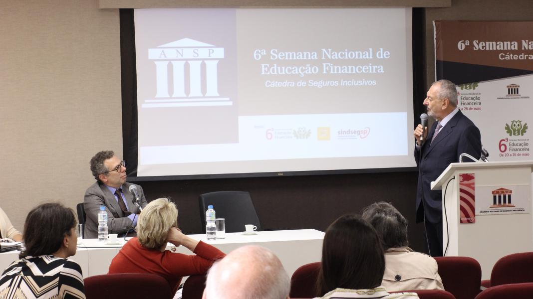 6ª Semana Nacional de Educação Financeira – Cátedra de Seguros Inclusivos