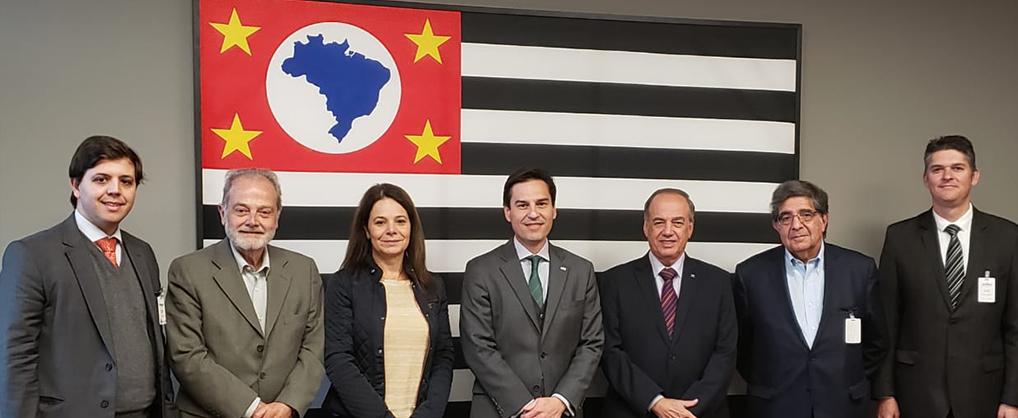 Seguro Rural é tema de encontro com Secretário Estadual de Agricultura de São Paulo