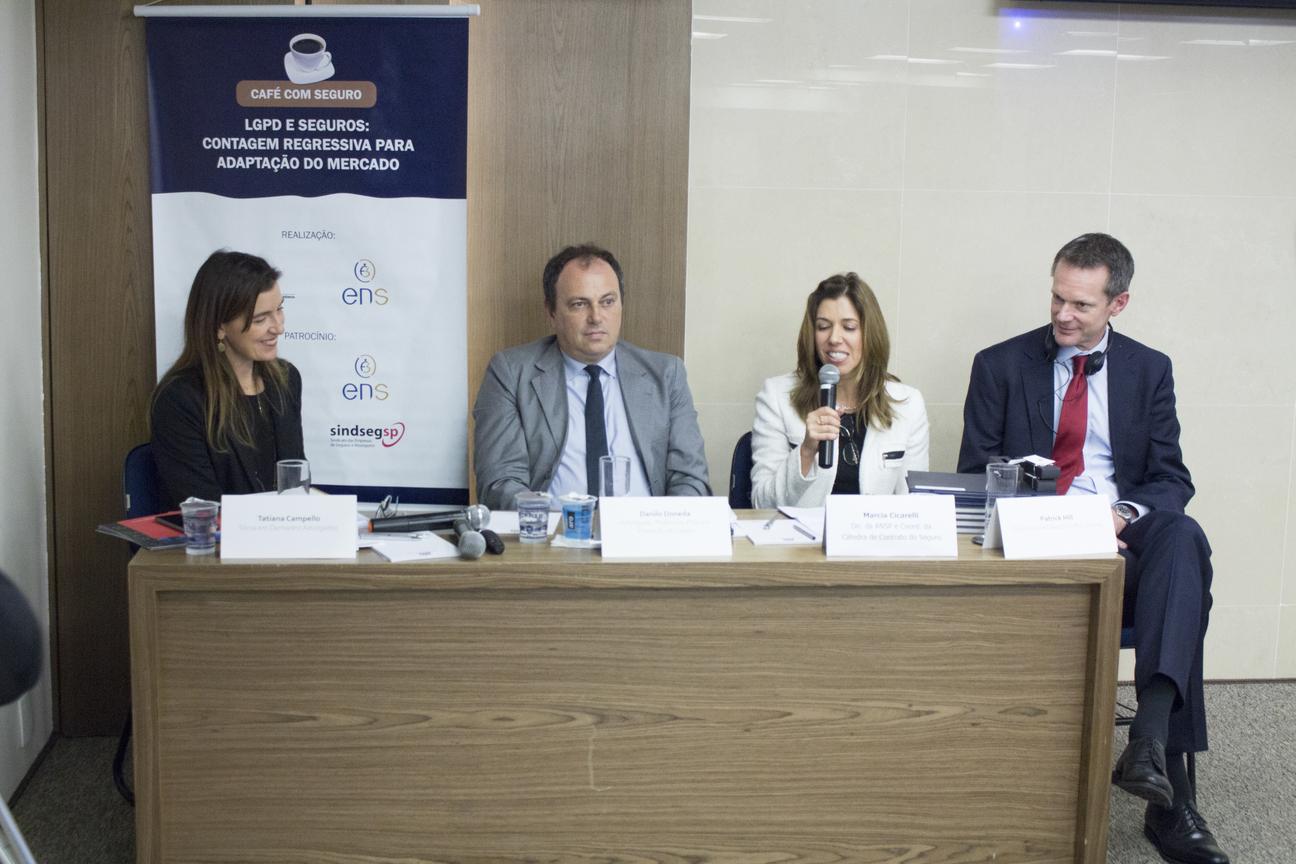 Café com Seguro LGPD e Seguros: Contagem regressiva para adaptação do mercado