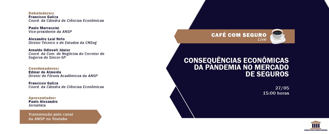 Café com Seguro Live – 27/05 às 15h